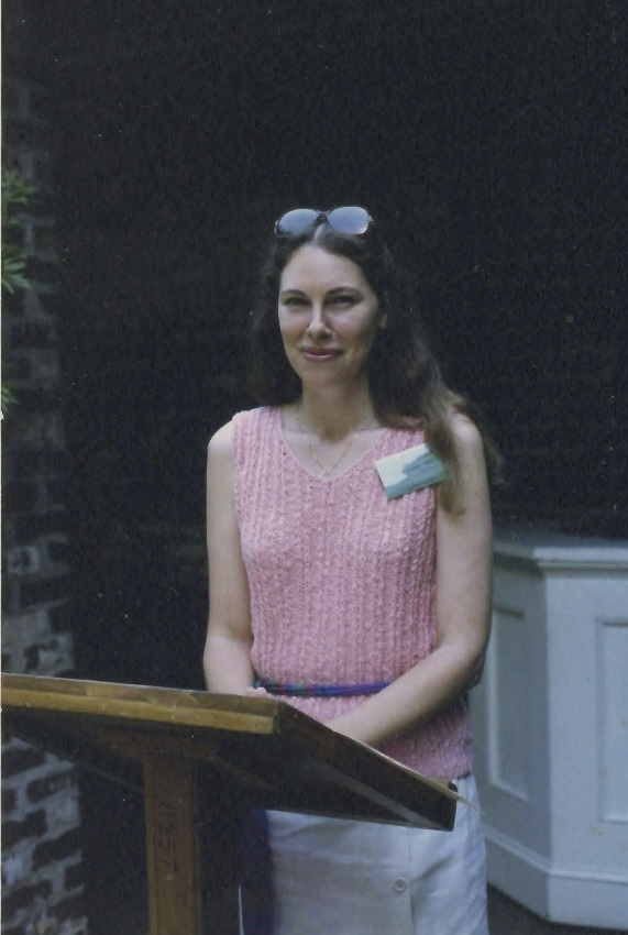 Reading at Piccolo Spoleto, 1986